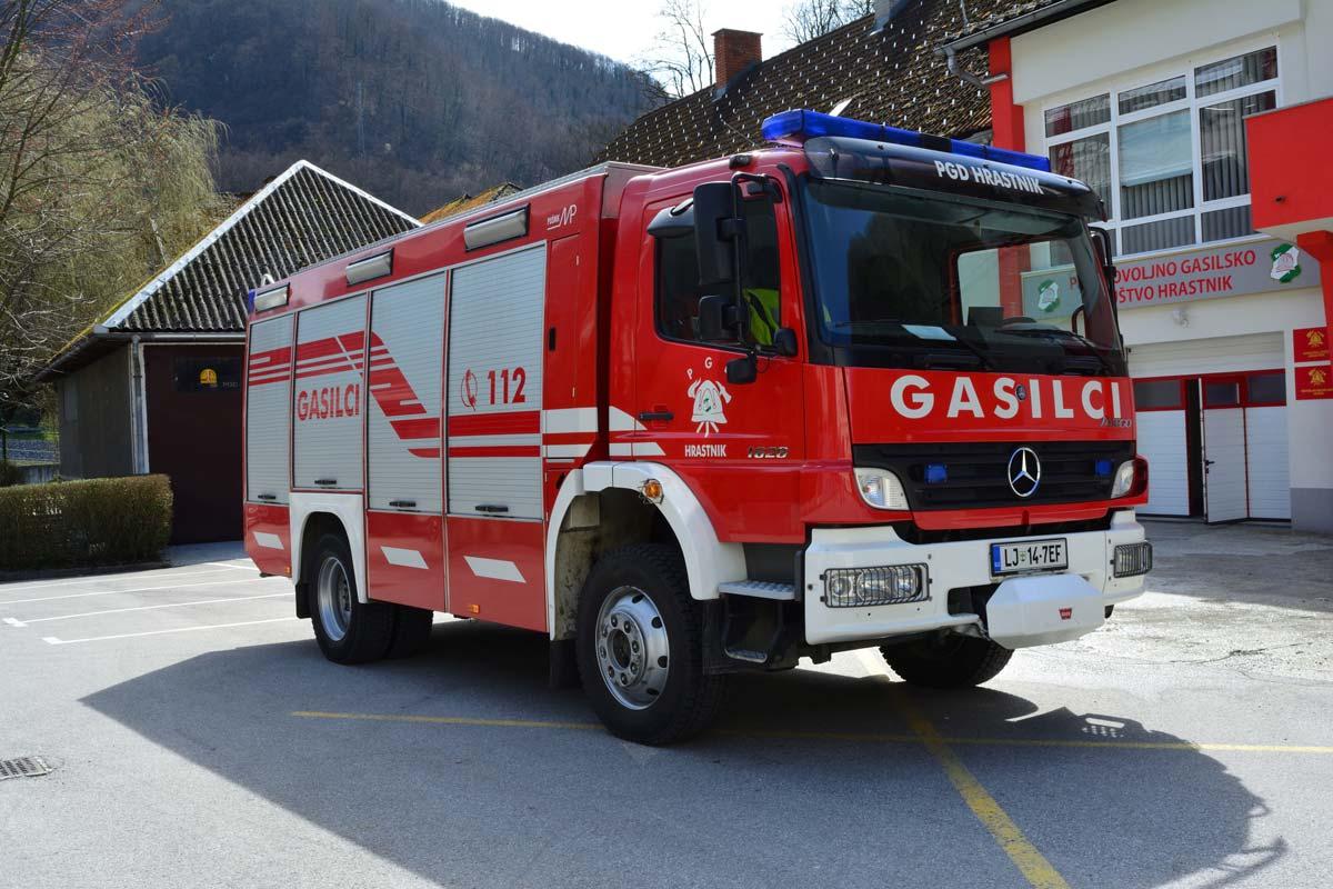 Gasilsko vozilo s cisterno GVC 24/50