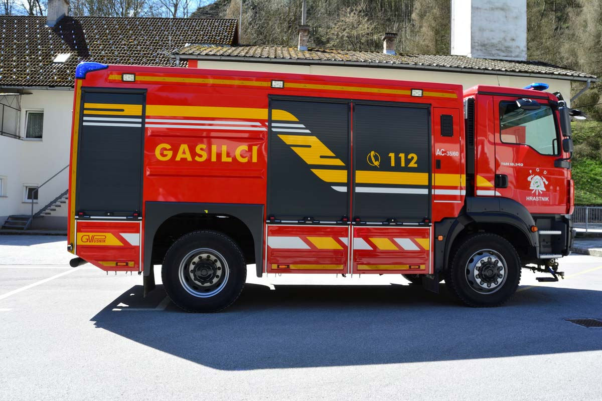 Gasilska avtocisterna AC 35/60