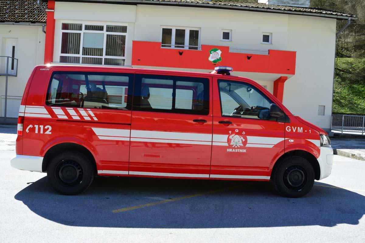 Gasilsko vozilo za prevoz moštva GVM-1